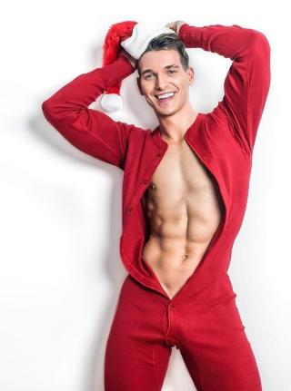 Xmas smile red onesie