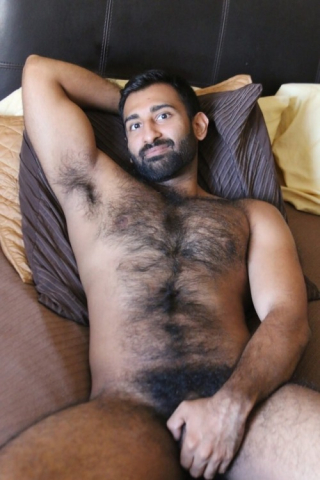 Hairy chest 5